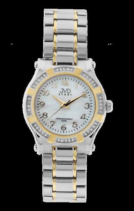 Dámské ocelové módní voděodolné hodinky JVD steel J4128.2 - 5ATM (POŠTOVNÉ ZDARMA!!!)