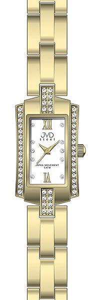 Dámské ocelové moderní hodinky JVD steel J4062.3 (POŠTOVNÉ ZDARMA!!)