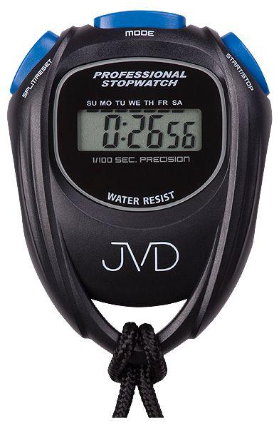Černé designové profesionální stopky JVD ST80.3 i s odpočtem času ( )