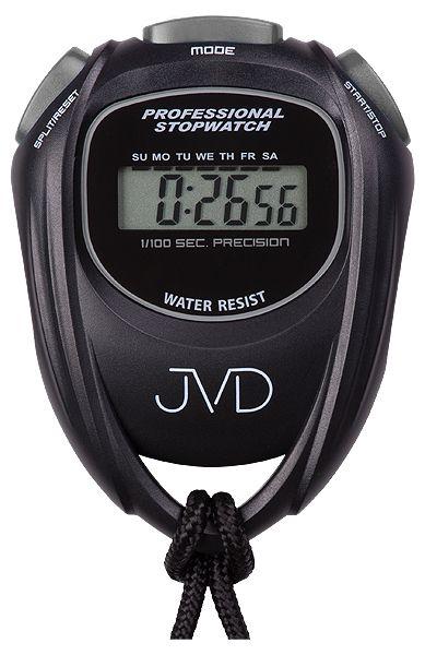 Černé designové digitální profesionální stopky JVD ST80.2 i s odpočtem času ( )