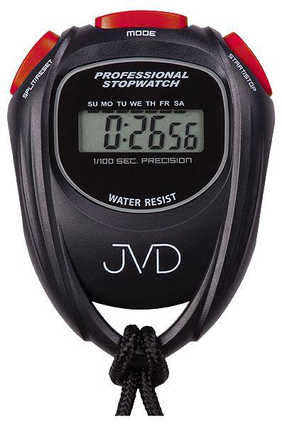 Černé designové digitální profesionální stopky JVD ST80.1 i s odpočtem času ( )