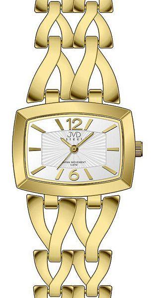 Dámské stříbrné elegantní hodinky voděodolené JVD steel J4070.2