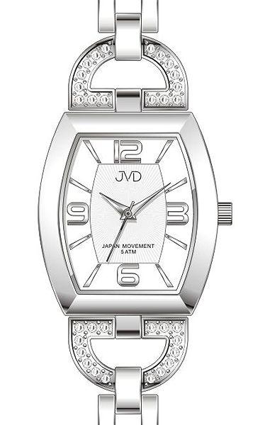 Dámské ocelové kvalitní voděodolné hodinky JVD steel J4084.1