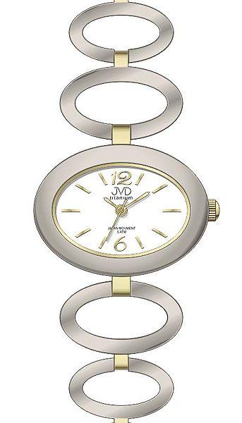 Dámské titanové antialergické hodinky JVD titanium J5023.2 - 5ATM