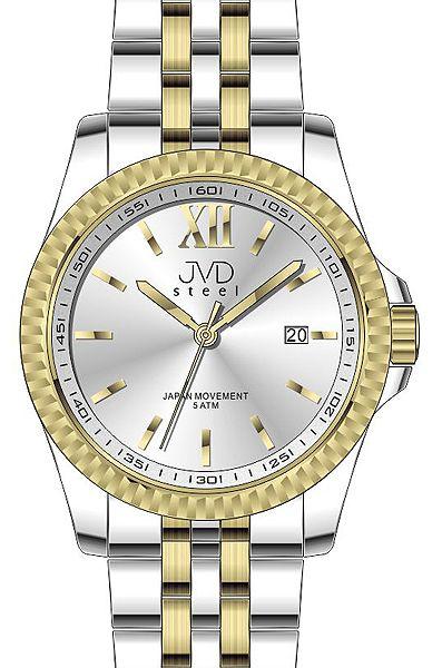 Pánské ocelové nerezové hodinky JVD steel J4129.2 - 5ATM POŠTOVNÉ ZDARMA! 0ad8b835366