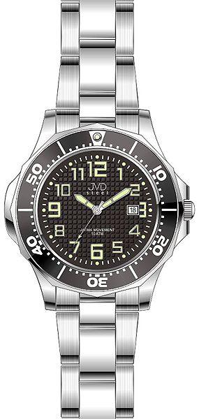 Dámské vodotěsné ocelové hodinky JVD steel J4117.1 do extrémních podmínek 10ATM