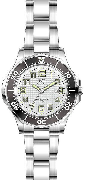 Dámské vodotěsné ocelové hodinky JVD steel J4117.2 do extrémních podmínek 10ATM