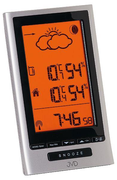 Luxusní rádiem řízená digitální meteostanice RB502.1 - předpověď počasí
