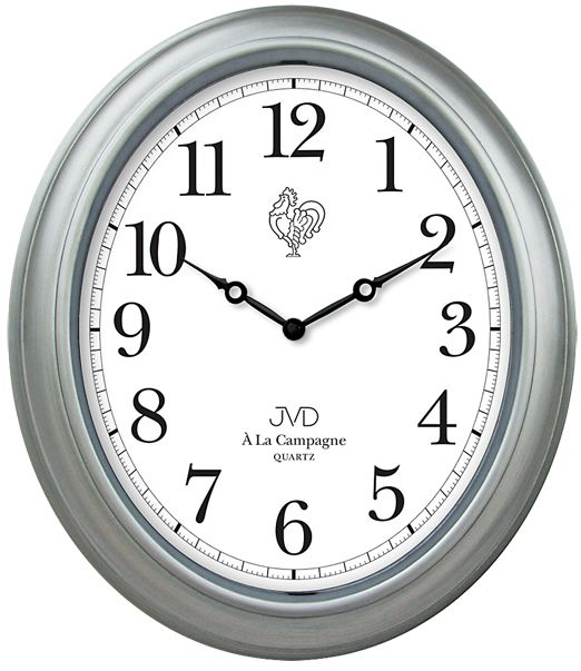 Nástěnné hodiny JVD quartz TS102.1 (francouzského vzhledu Á La Campagne)