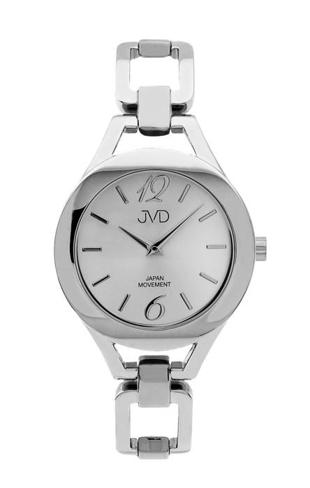 Dámské nerezové voděodolné hodinky JVD JC029.1 s datumovkou (POŠTOVNÉ ZDARMA!!)