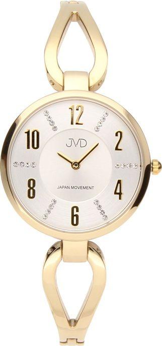 Dámské šperkové hodinky JVD JC073.3 s perleťovým číselníkem