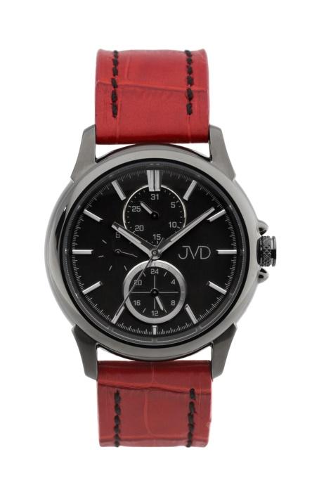 Pánské mohutné ocelové vodotěsné hodinky JVD seaplane JC664.4 - 10ATM - Ipblack (POŠTOVNÉ ZDARMA!!)