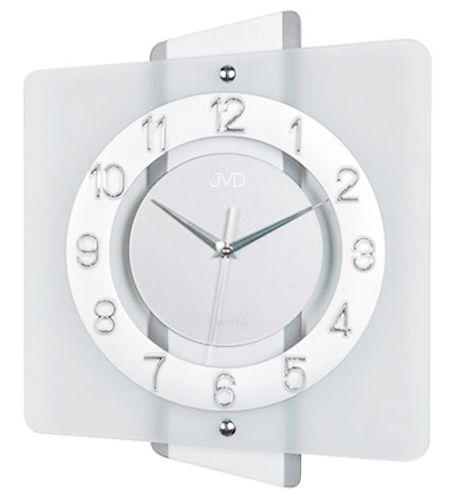 Luxusní skleněné moderní hodiny JVD quartz N20133