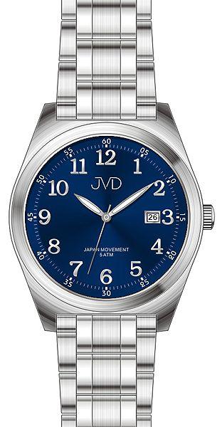 fda688e0346 Pánské voděodolné ocelové hodinky JVD J1101.2 s datumovkou 5ATM