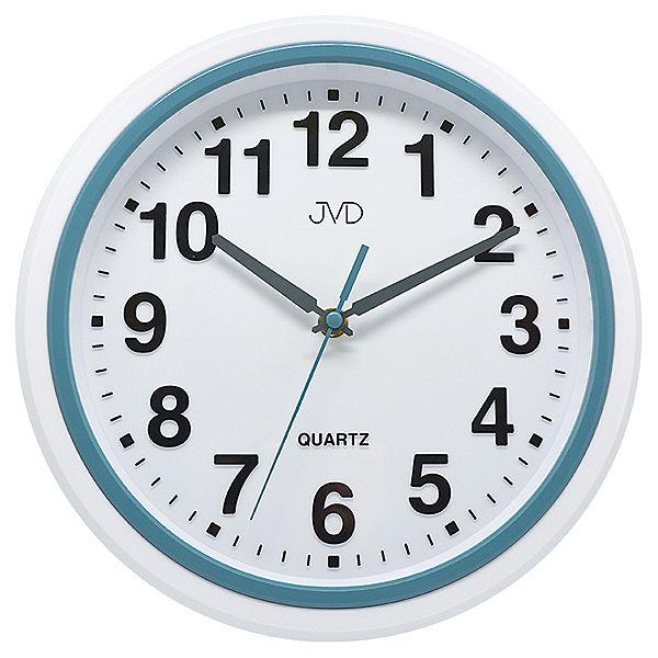 Plastové kuchyňské moderní hodiny JVD sweep HA41.1