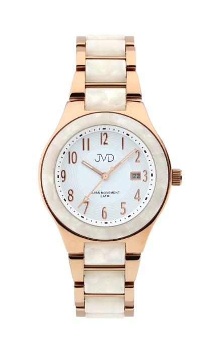 Luxusní ocelové voděodolné hodinky JVD J1098.3 UNISEX (POŠTOVNÉ ZDARMA!!!)