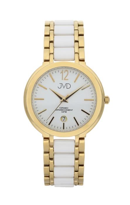 Luxusní keramické dámské náramkové hodinky JVD chronograph J1104.2 (POŠTOVNÉ ZDARMA!!!)