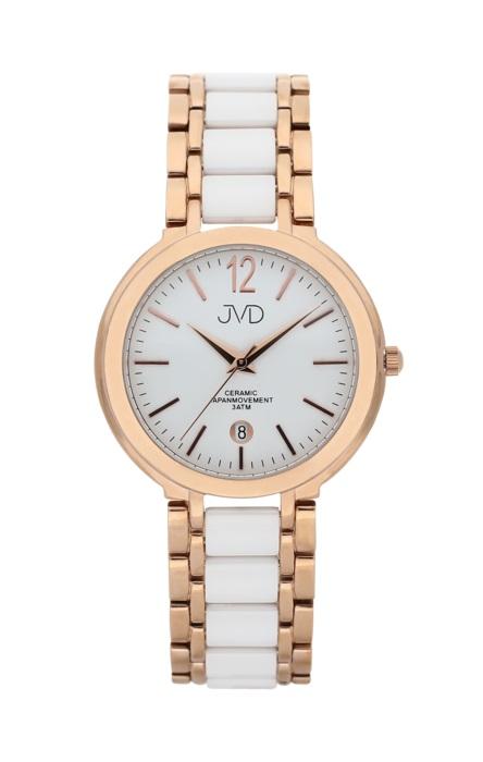 Luxusní keramické dámské náramkové hodinky JVD chronograph J1104.3 (POŠTOVNÉ ZDARMA!!!)