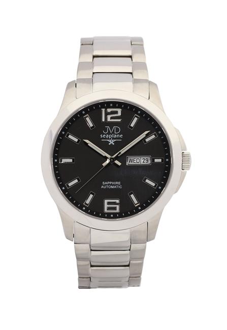 Samonatahovací automaty pánské chronografy hodinky JVD seplane JS29.3 se safírem
