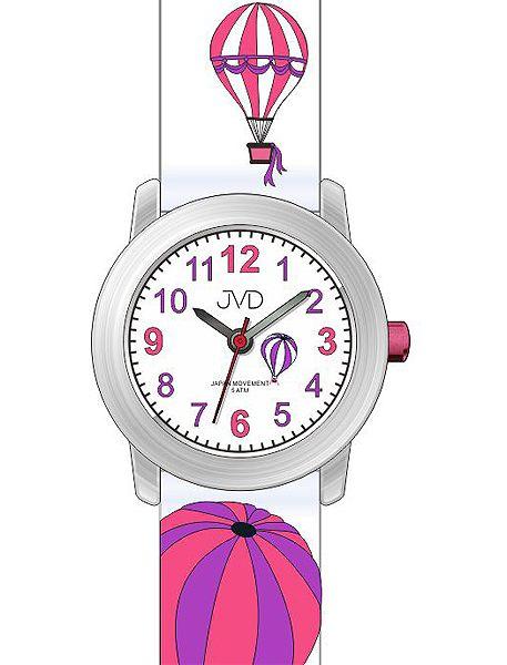 Dětské náramkové voděodolné hodinky JVD J7148.1 s balóny (100)