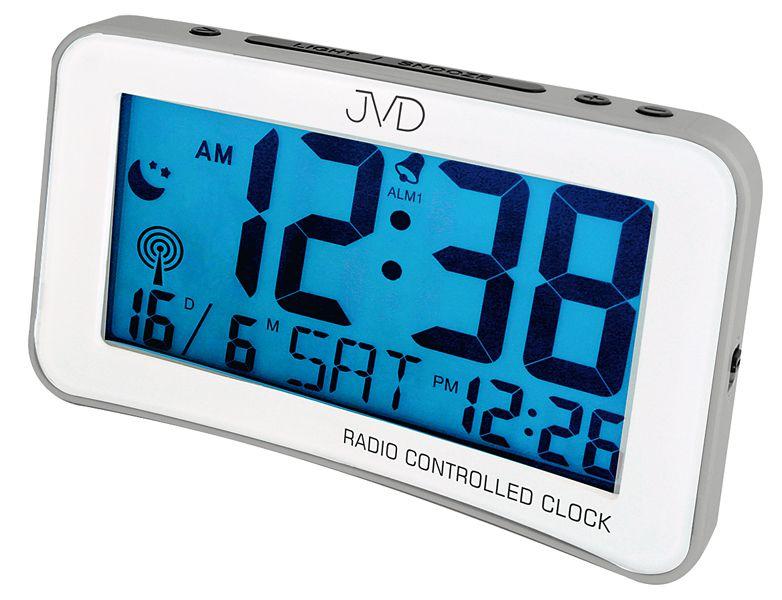 Digitální moderní rádiem řízený budík JVD RB860.3