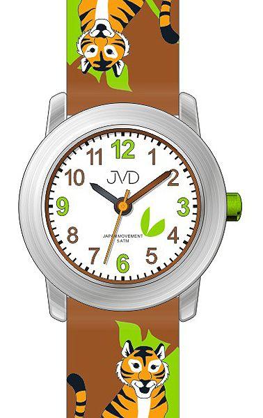 Dětské hodinky JVD J7151.1 s motivy džungle