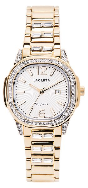 fdc8bbf00f7 Dámské švýcarské značkové luxusní hodinky Lacerta LC203 se safírovým sklem