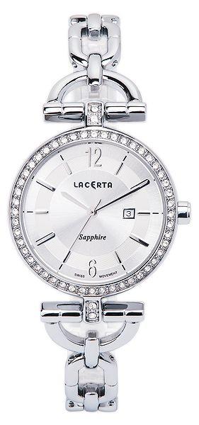 Dámské švýcarské šperkové luxusní hodinky Lacerta LC301 - safírové sklo