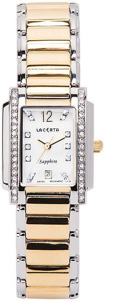 Dámské švýcarské luxusní hodinky Lacerta LC104 (baterie na 34měsíců)