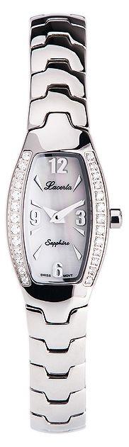 Stříbrné dámské luxusní hodinky LACERTA 751M6607