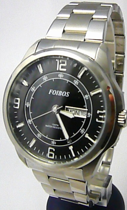 Pánské vodotěsné ocelové kovové hodinky Foibos 6733.1 - 10ATM ba6a6c9f99