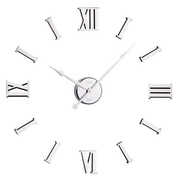 Nalepovací moderní nástěnné hodiny JVD HB15