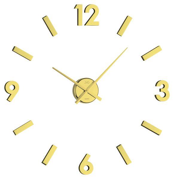 Luxusní nalepovací nástěnní hodiny JVD HB11.1