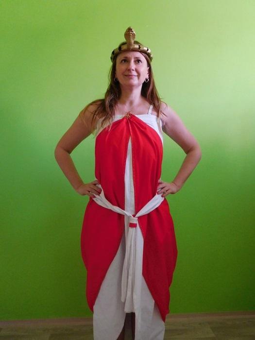 Dámský maškarní kostým Kleopatra (Cena za půjčovné na 1-3 dny nebo víkend:)