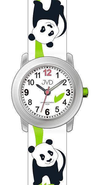 Dětské hodinky JVD J7160.1 s motivem PANDY pro kluky a holky - 5ATM