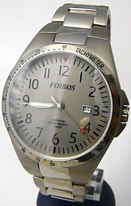 Luxusní pánské titanové antialergické čitelné hodinky Foibos 2358.1 - 10ATM