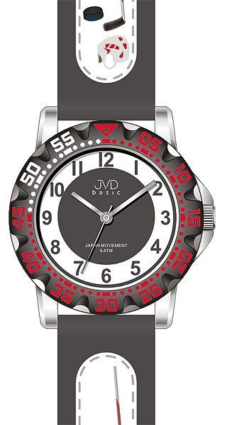 Fotbalové chlapecké sportovní hodinky JVD J7078.3 pro fotbalisty - 5ATM
