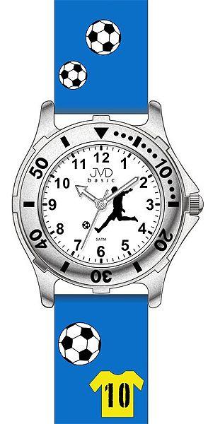 Světle modré dětské chlapecké náramkové hodinky JVD basic J7100.6