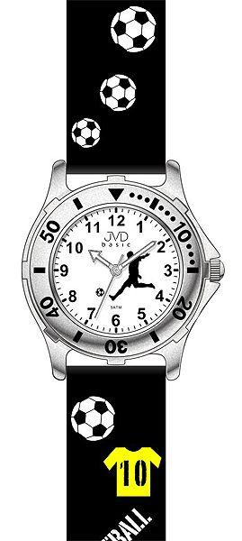 Černé dětské chlapecké náramkové hodinky JVD basic J7100.1
