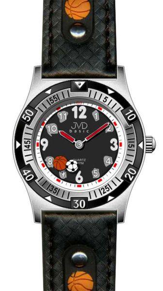 Chlapecké sportovní dětské hodinky JVD basic J7038.1 s míčovými sporty