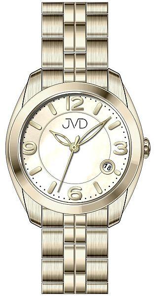 Voděodolné pánské ocelové hodinky JVD W76.2 s kalendářem - 5ATM