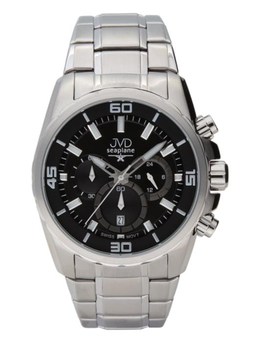 Luxusní voděodolné pánské chronografy JVD W81.1