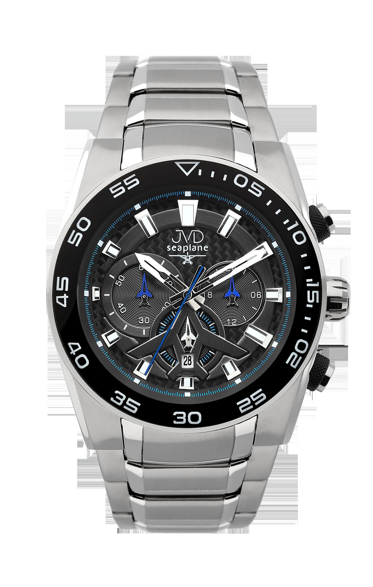Luxusní pánské voděodolné chronografy do extrémních podmínek JVD W49.2 (POŠTOVNÉ ZDARMA!!)