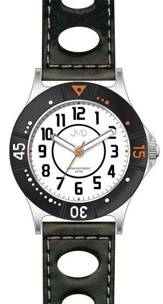 Dětské chlapecké sportovní barevné voděodolné hodinky JVD J7087.1 - 5ATM