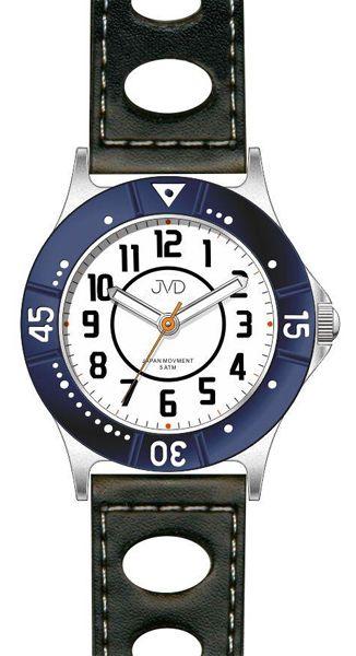 Dětské chlapecké sportovní modré voděodolné hodinky JVD J7087.2 - 5ATM