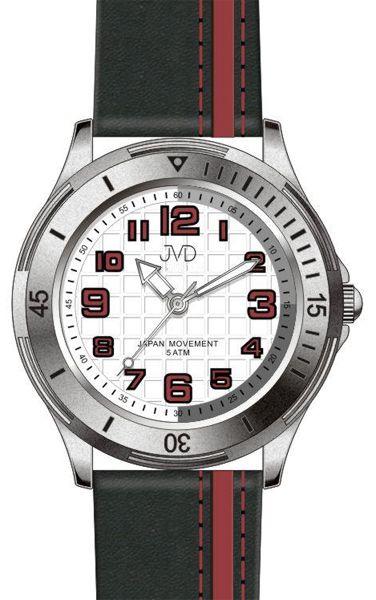 Dětské chlapecké sportovní barevné hodinky JVD J7081.1 - 5ATM