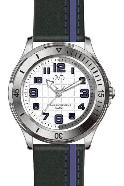 Dětské chlapecké sportovní barevné náramkové hodinky JVD J7081.3 - 5ATM