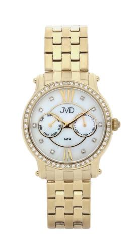 Dámské luxusní hodinky JVD W80.3 - chronografy s perleťovým číselníkem (POŠTOVNÉ ZDARMA!!)