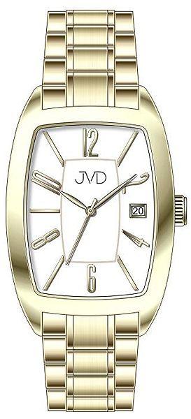 Dámské ocelové módní zlacené hodinky JVD W79.2