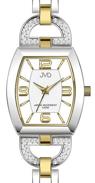 Dámské ocelové kvalitní voděodolné hodinky JVD steel J4084.3